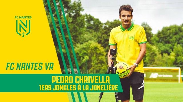 FC Nantes VR : 1ers jongles à la Jonelière pour Pedro Chirivella !