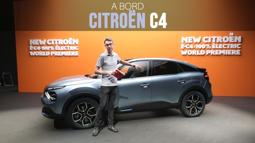 A bord de la Citroën C4 (2020)