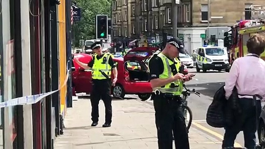 Morningside Road car accident