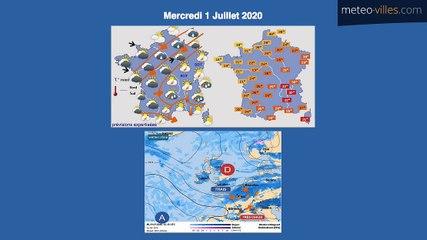 Bulletin Météo du 30 06 2020