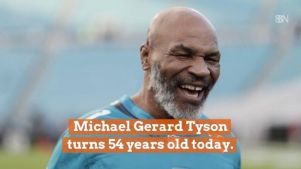 Mike Tyson Is 54