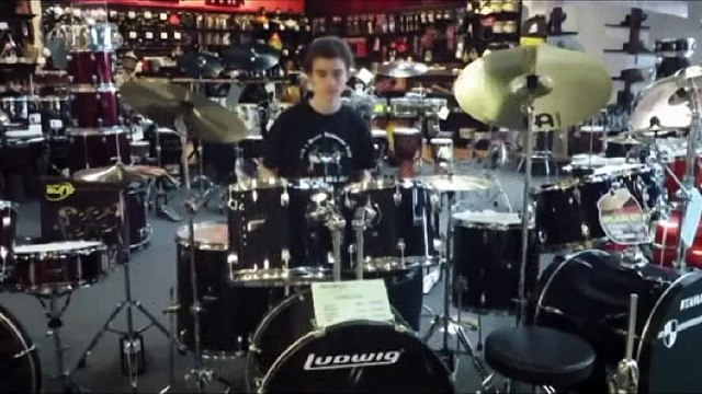 Ludwig 5-Piece Accent Combo Drum Set