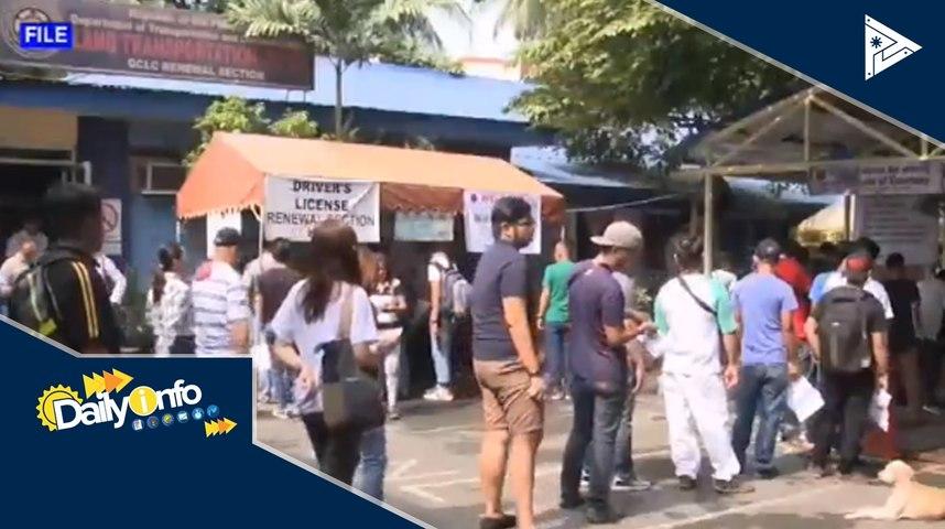 Online transactions ng LTO, bukas na
