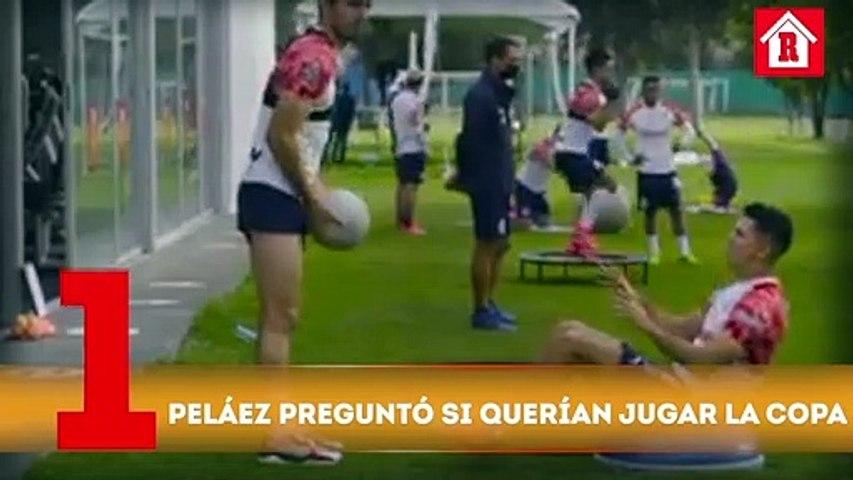 Ricardo Peláez le preguntó a los jugadores de Chivas si querían estar en la Copa por México l Top 5