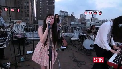 """Cults, """"You Know What I Mean"""" (Live at SPIN)"""