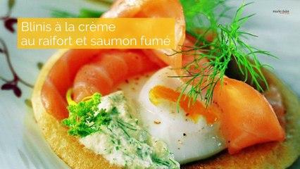 Recettes express au saumon