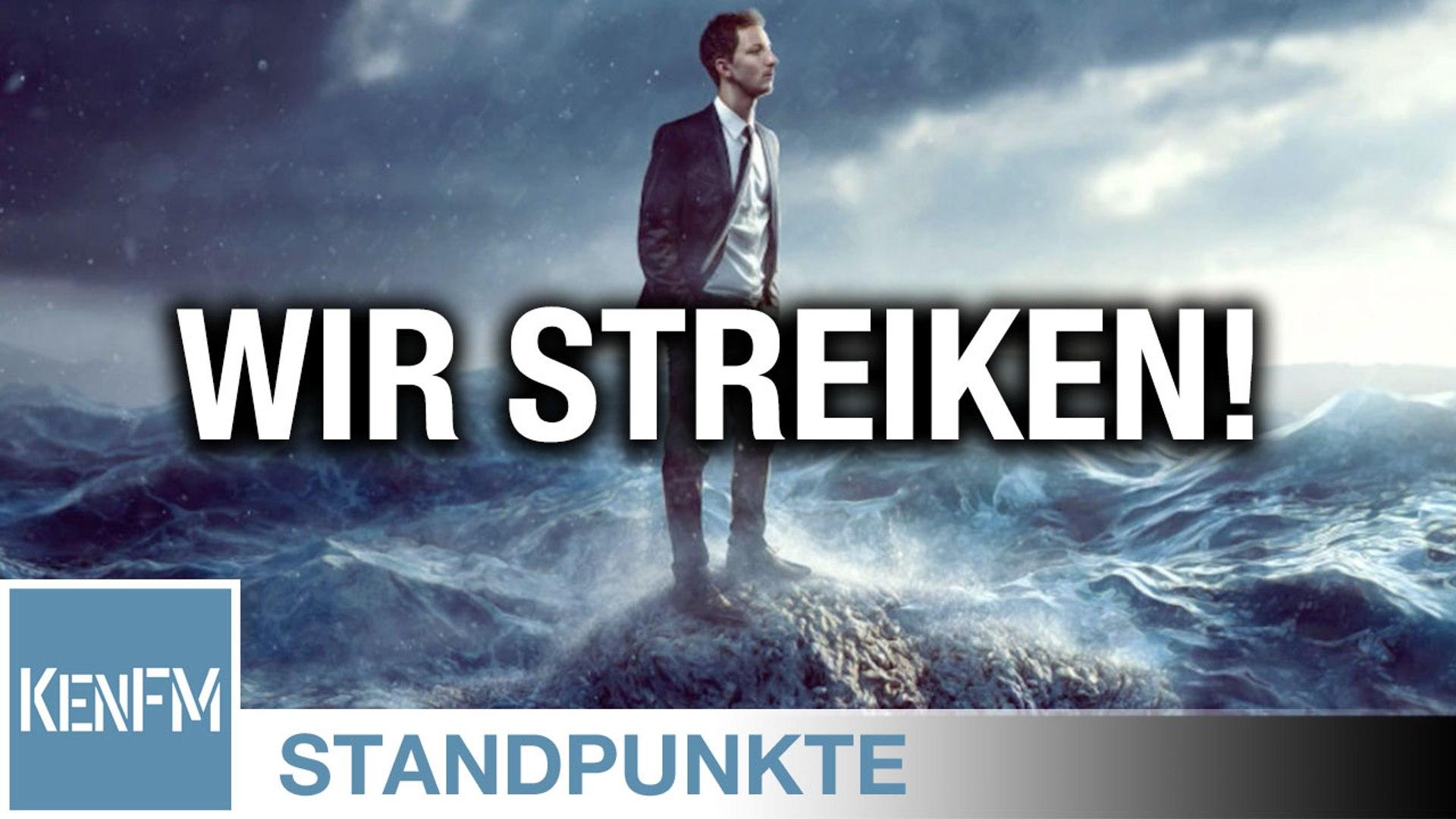 Wir streiken! I Von Roland Rottenfußer