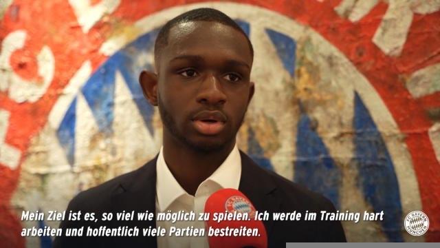 """Bayern - Kouassi : """"Mon objectif est d'engranger le plus de temps de jeu possible"""""""