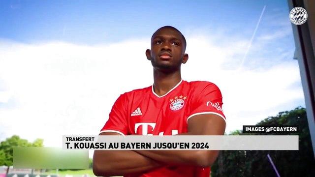Tanguy Kouassi au Bayern de Munich jusqu'en 2024