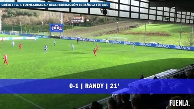 Randy Nteka, le milieu français qui s'éclate au CF Fuenlabrada