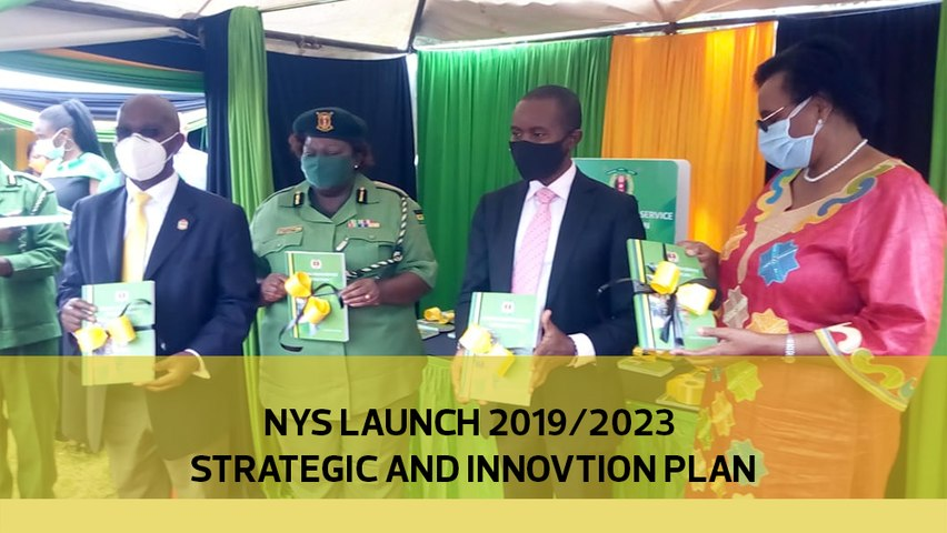 NYS Launch 2019/2023 Strategic and Innovation Plan