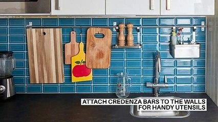 15 (great) ideas for setting up a small kitchen
