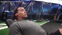 Cam Newton Shares Motivational Hype Vlog: 'I'm On Your Neck'