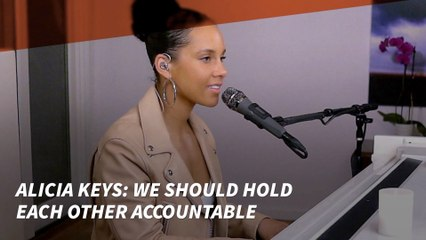 Alicia Keys Accountable