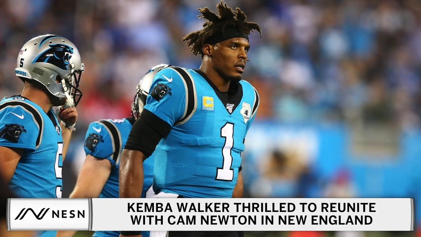 Kemba Walker On Cam Newton Signing With Patriots