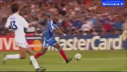 02/07/00 : Sylvain Wiltord (90'+4) : France - Italie (2-1)