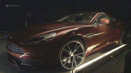 Aston Martin Vanquish V12 and Rapide