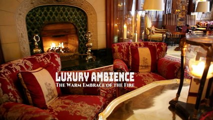 Luxury Ambience | ASMR | The Warm Embrace of the Fire
