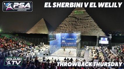 Squash - El Sherbini v El Welily - Throwback Thursday - Al Ahram Squash International 2016