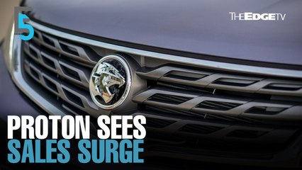 EVENING 5: Proton's sales jump 70% in June