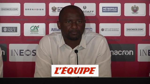 Vieira sur le mercato : «Une grosse satisfaction» - Foot - L1 - Nice