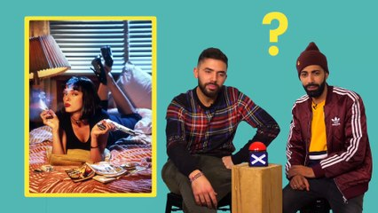 Khalid Bounouar & Benaissa Lamroubal im ultimativen Blockbuster-Quiz