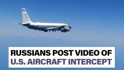 Russians post video of intercept of US Navy, Air Force 'spy planes' over Black Sea