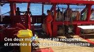 Désespérés, deux migrants se jettent à l'eau de l'Ocean Viking, bloqué en Méditerranée