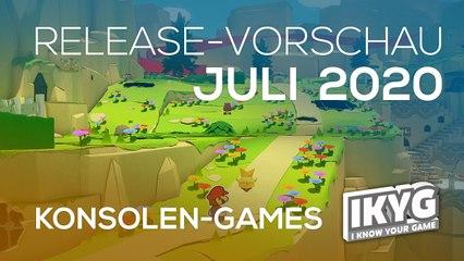 Games-Release-Vorschau - Juli 2020 - Konsole