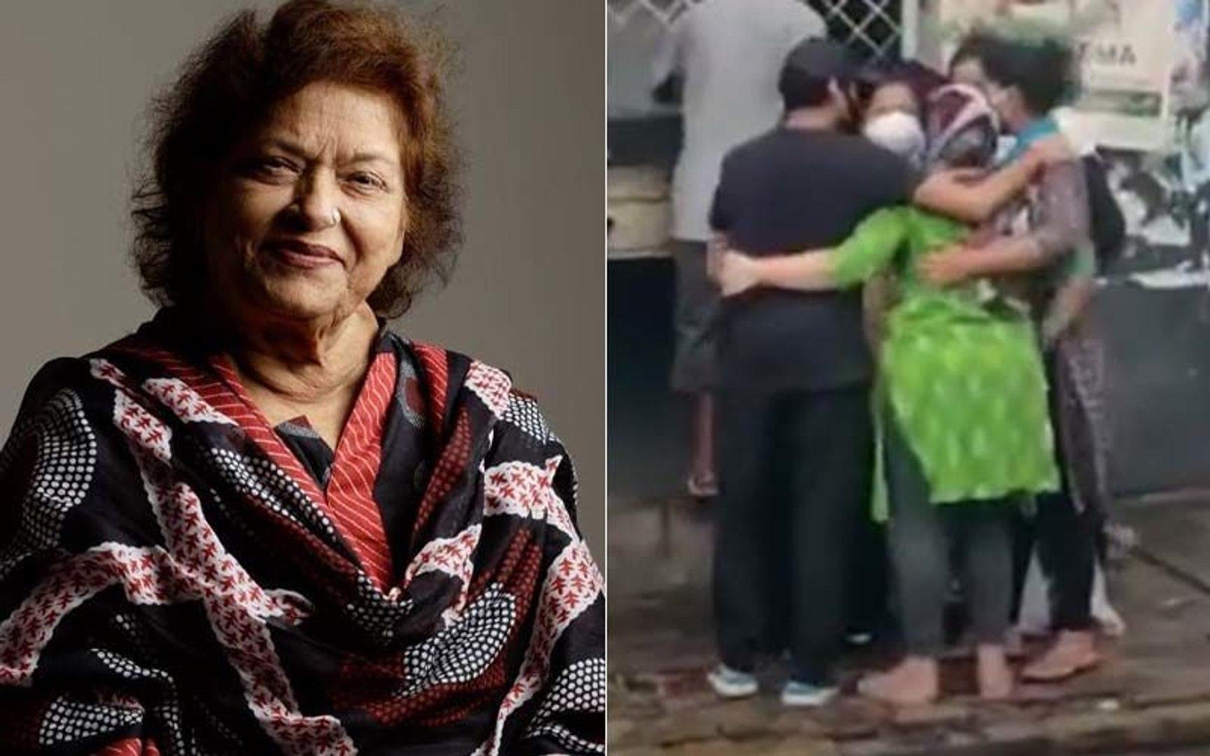 Saroj Khan Family Reaches Muslim Cemetry Kabristan In Malad For Her Last Rites _ SpotboyE