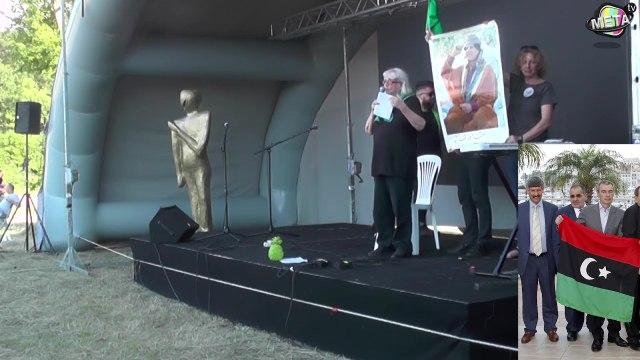 Ginette Sandrani sur la Libye le 27 juin 2020 au Bal des Quenelles