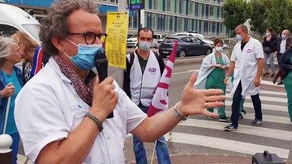 Les Hôpitaux de Créteil mobilisé pour le DEFILE DU 14 JUILLET !