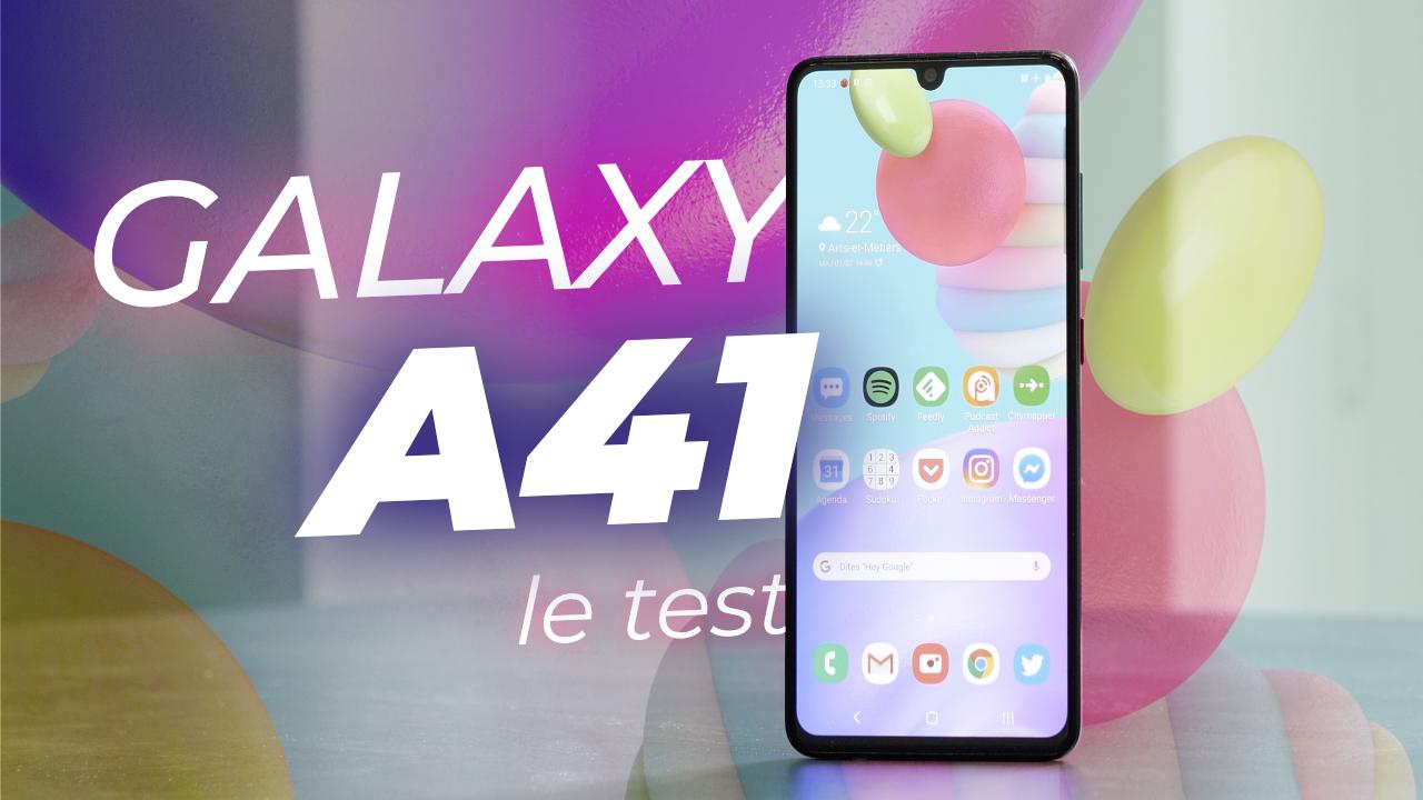TEST du Samsung Galaxy A41 : une SUPERBE proposition avec QUELQUES DÉFAUTS !