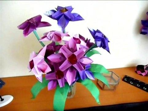 Origami BELLFLOWERS