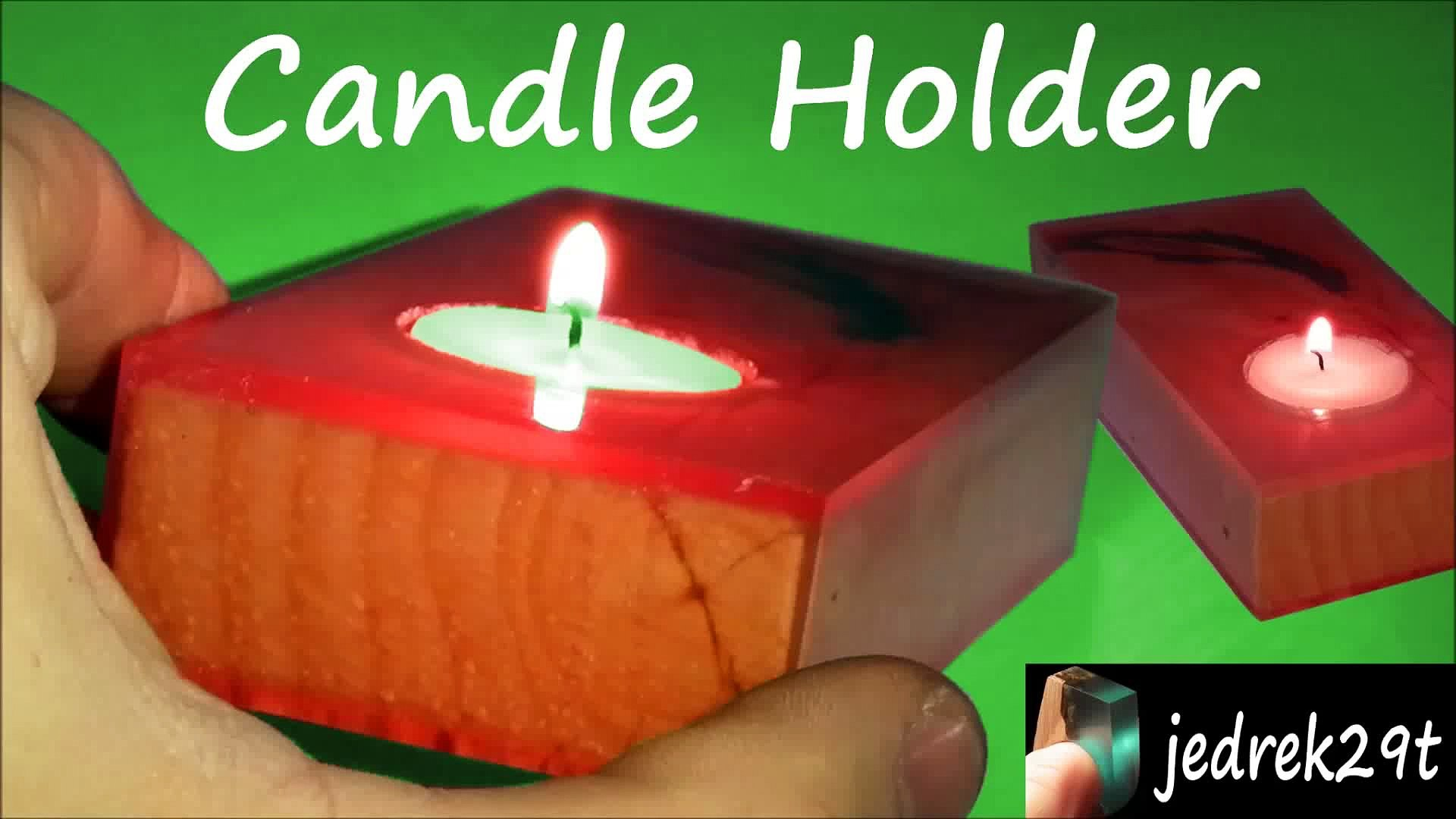 Diy Candle Holder Resin Video Dailymotion