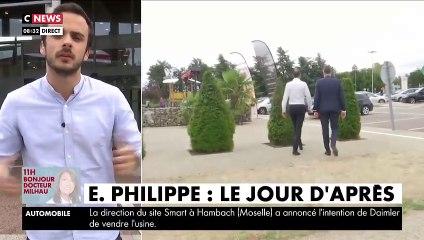 L'ancien Premier ministre, Edouard Philippe, a été aperçu ce matin sur une aire d'autoroute, se rendant au Havre