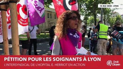 Lyon : Le ras-le-bol du personnel soignant de l'hôpital HEH