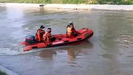 Pencarian Nenek yang Tenggelam di Sungai