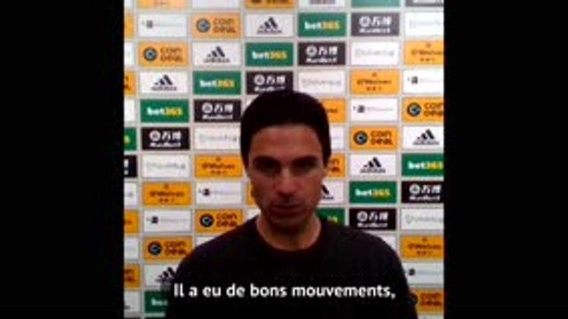 """Arteta (Arsenal) : """"Lacazette était prêt à bondir"""""""