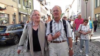 Angelika Barbe: Rede  auf dem Marktplatz von Sonneberg am 29.06.2020