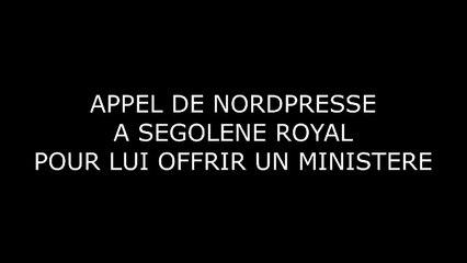 Ségolène Royal piégée, on lui fait croire qu'elle va avoir un poste au gouvernement [Canular]