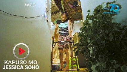 Kapuso Mo, Jessica Soho: Ina sa Laguna, itinatali sa kisame para guminhawa ang pakiramdam