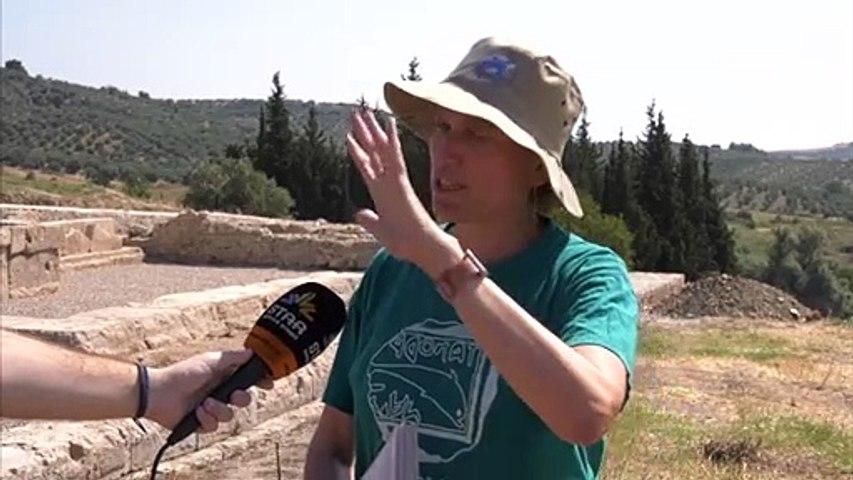 Στην αρχαιολογική ανασκαφή στο Καλαπόδι  ο Αντιπεριφερειάρχης Φθιώτιδας και ο Δήμαρχος Λοκρών