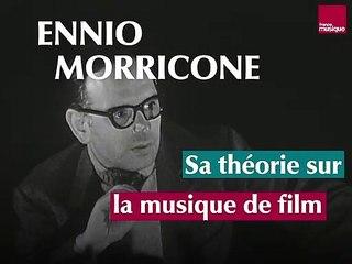 Ennio Morricone, sa théorie sur la musique de film