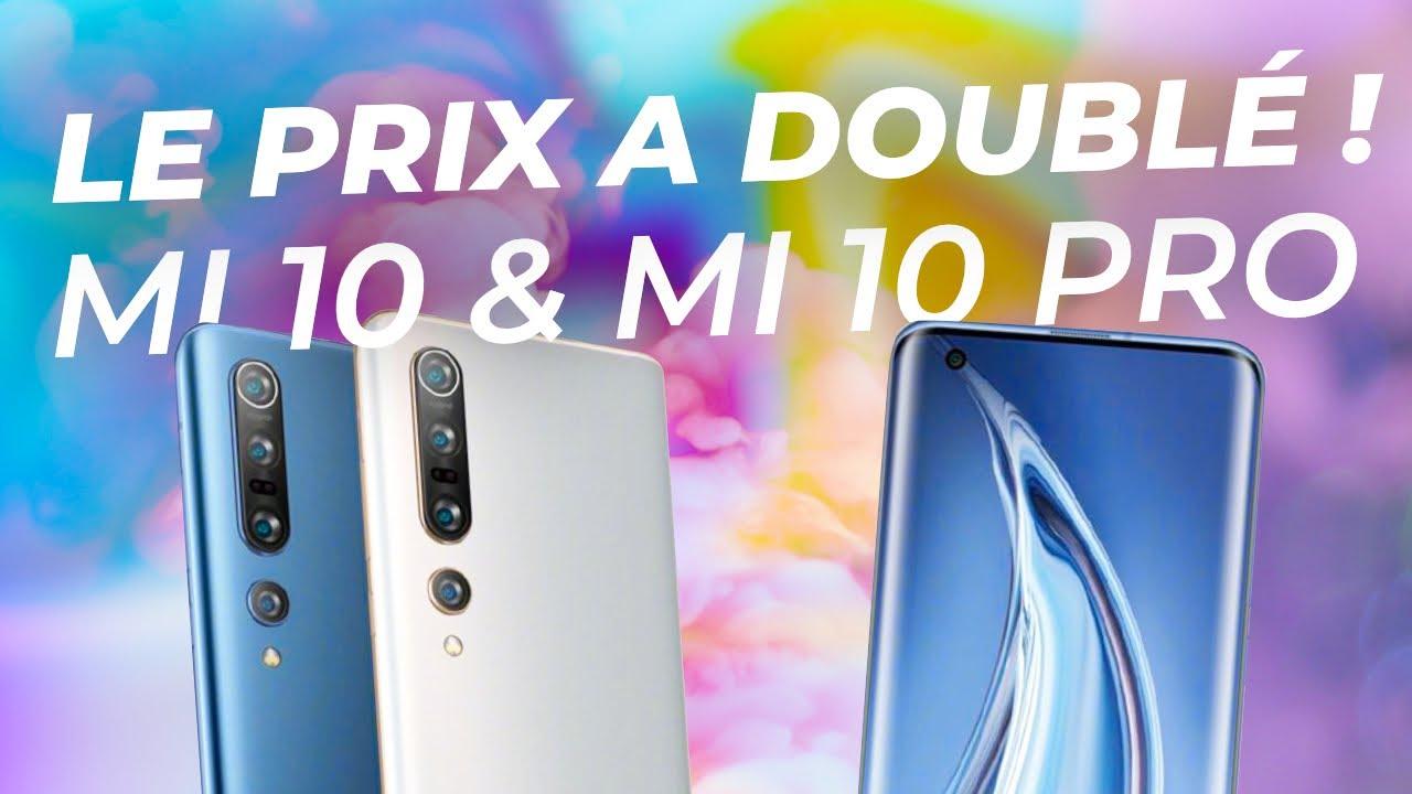Xiaomi Mi 10 et Mi 10 Pro:  le PRIX a BEAUCOUP AUGMENTÉ !