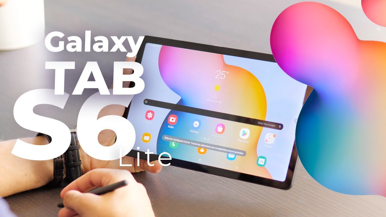 Samsung Galaxy Tab S6 lite : le Standard des tablettes Android ?