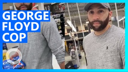 George Floyd Guilty Cop Filmed Shopping for Oreos