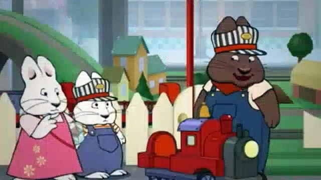 Max & Ruby Season 5 Episode 13 Engineer MaxMax's Toy TrainMax's Train Ride
