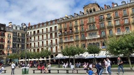 Así ha vivido la Plaza del Castillo el momento del 'no Chupinazo'