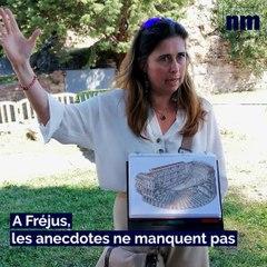 Stéfanie, guide-conférencière à Fréjus, présente son métier
